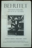 BEHUTET, ISSUE # 6, MODERN THELEMIC MAGICK & CULTURE, OTO, OCCULT, CROWLEY