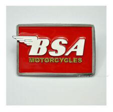 BSA Motorcycles Belt Buckle vintage bike Oldtimer Moto Boucle de ceinture    421 b03b8c0bad8