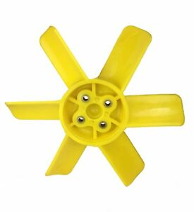 New Yellow Plastic Fan Blade MG Midget Austin Healey Sprite 1275 1968-1974