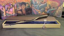 Harry Potter - Grindelwald Wand w/ FREE Deathly Hallow Necklace