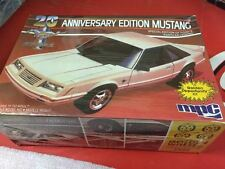 84 MUSTANG GOLDEN 20TH ANNIVERSARY KIT UNBUILT RARE AND  VINTAGE