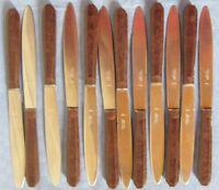 12 Cuchillos Baquelita Art Deco Knives