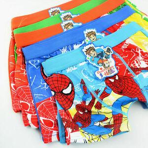 Spider-Man Children's Underwear Cotton Boxer Briefs Boys Close Models Wholesale