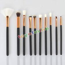 10Pcs Professional Cosmetic Makeup Tool Brush Brushes Set Powder Eyeshadow Blush