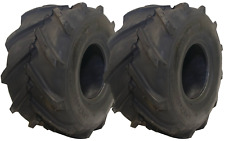 2 Pk,Carlisle 20 X 10.00 X 8 4-Ply Super Lug Tread Tires **FREE SHIPPING** (D51)