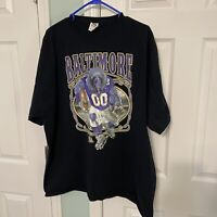 NFL Baltimore Ravens Men's Black Full Graphic Short Sleeve T-Shirt Size 3XL XXXL