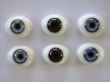 Augen Im Glas Briefbeschwerer 24 MM Für Puppen Antike Oder Moderne - Reborning