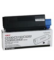 OKI Okidata 42127404 Toner Cartridge, Laser, Type C6, 5000 Page Yield, Bla..