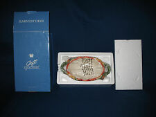 Avon 2003 Gift Collection Harvest Dish In Original Box