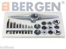 BERGEN  31 Pc Mini Metric Tap and Die Set M1 to M2.5 LATHE MILL TAPPING A2545