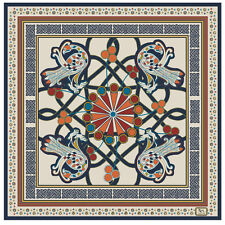 Book of Kells Pure Silk Scarf (Cream)