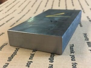 "1 1//2 X 5 Flat Steel Bar Goldsmithing Blacksmith Machining Cold Rolled 4 1//2"" L"