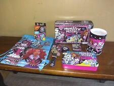 Monster High: Uno, Playing Cards, Coin Bank, Puzzles, Bag, Tin, Yo-yo, Checkers