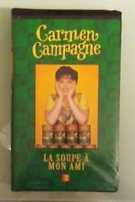 carmen campagne  LA SOUPE A MON AMI 3   VHS VIDEOTAPE