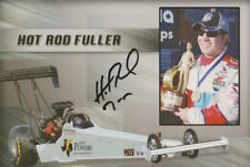 "2008 ""Hot Rod"" Fuller signed David Powers Motorsports Top Fuel NHRA postcard"