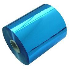 Prägefolie Heißprägefolie Blau Metallic Breite 140mm x 120m Rolle HOT Foil Print