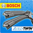 Chevrolet Lacetti Bosch Aero twin  windscreen wiper blades front pair UPGRADE