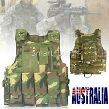 NEW CP Camo Tactical Vest SWAT Combat Molle Plate Military Army Airsoft Hunting