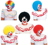Clown Wig Big Afro Circus Costume Adult Size Multiple Colors
