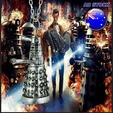 Wholesale Doctor Who Silver 3D Dalek Robot Chain Pendant Necklace