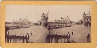 Venezia Canal Grande Italia Foto Stereo Vintage Albumina c1870