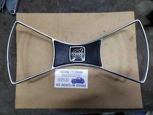 Steering Wheel Center Horn Button + Rim For Volvo 140 142 144 145 , 1972