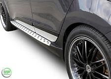 RB003 Set Aluminium Trittbretter Schweller Hyundai ix35 ix 35  Bj. 2010-2015