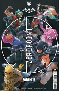 BATMAN FORTNITE ZERO POINT #2 - Second Printing - 2ND PTG - DC - Presale 06/01