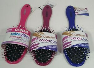 Conair Color Vibes Everyday Stylers Flexible Cushion Brush