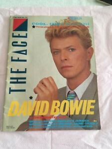 David Bowie - The Face Magazine No. 37 1983 Good condition