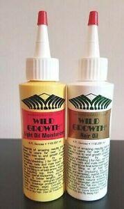 Wild Growth Hair Oil Combo Original 4oz & Light 4oz 💕