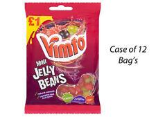Vimto MINI Jelly Bean 160g custodia completo di 12 BAG'S wholesale dolci Kids 216395