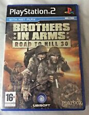 BROTHERS IN ARMS: ROAD TO HILL 30 for Sony PlayStation 2 PAL 16+ with MANUAL
