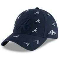 Atlanta Braves Hat Logo Scatter 9TWENTY Adjustable New Era Strapback Cap