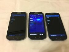 3 PCS of Samsung Galaxy SIII SCH-I535 Verizon 16GB Blue 4G LTE Smartphone