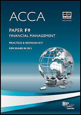 Acca - F9 Financial Management: Revision Kit-ExLibrary
