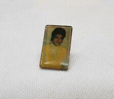 Vintage Michael Jackson Portrait Enamel Hat Pin