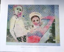 Sigmar Polke: Girlfriends print 26 x 28 cm New