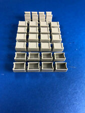 US WW2 .30 Cal Wooden Ammunition Cases Boxes for Diorama (1/48 Squadron 48004)