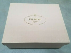 """Prada* Pink shoe box* 12""""x10""""x4.5"""" Authentic* pre owned*"""