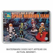 Mattel Major Matt Mason astronauta misión Equipo Set Jumbo Refrigerador/spint Imán