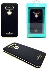Authentic Kate Spade New York Saffiano Leather Wrap Case Cover For LG G5 Black