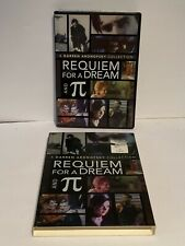 Darren Aronofsky Collection Dvd Requiem for a Dream (2000) and Pie (1998)