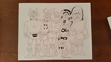 Fred Hembeck New Gods Darkseid Original Art 2010