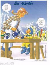 """PUBLICITE ADVERTISING 105  2011   NICOLE LAMBERT LES TRIPLES """" le lait BIO"""""""
