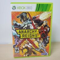 Anarchy Reigns - Microsoft Xbox 360 Game With Case Tested Working