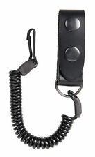 Pistol Cord twisted with leather loop