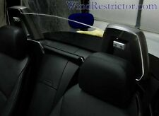 Wind Restrictor Deflector Screen for BMW Z4 Clear Silver bracket tan interior