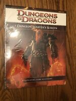 NEW IN SHRINK! DUNGEON MASTER'S SCREEN Dungeons & Dragons 4th Edition SEALED!