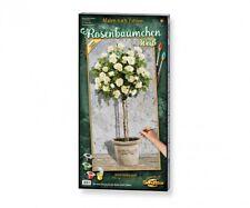 Schipper 609220777 - Malen Nach Zahlen - Rosenbäumchen Weiß - Neu